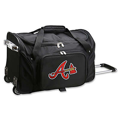 MLB Atlanta Braves 22-Inch Wheeled Duffle Bag