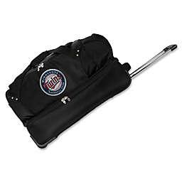 MLB Minnesota Twins 27-Inch Drop Bottom Wheeled Duffel Bag