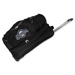 MLB Milwaukee Brewers 27-Inch Drop Bottom Wheeled Duffel Bag