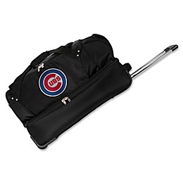 MLB Chicago Cubs 27-Inch Drop Bottom Wheeled Duffel Bag
