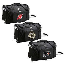 NHL 22-Inch Wheeled Carry-On Duffle Bag
