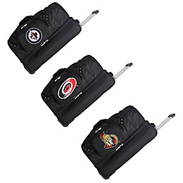 NHL 27-Inch Wheeled Drop Bottom Duffle Bag