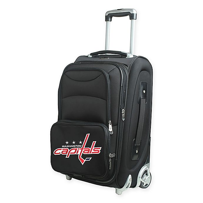 Alternate image 1 for NHL Washington Capitals 21-Inch Carry On Spinner