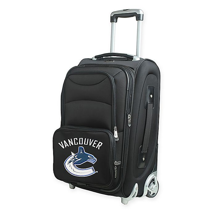 Alternate image 1 for NHL Vancouver Canucks 21-Inch Carry On Spinner