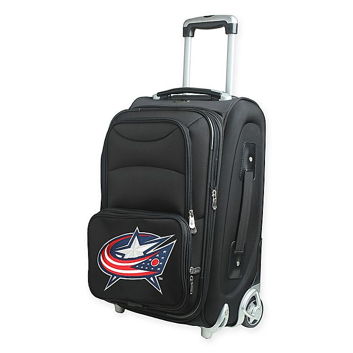Alternate image 1 for NHL Columbus Blue Jackets 21-Inch Carry On Spinner