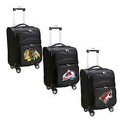 NHL 20-Inch Carry On Spinner Luggage Collection