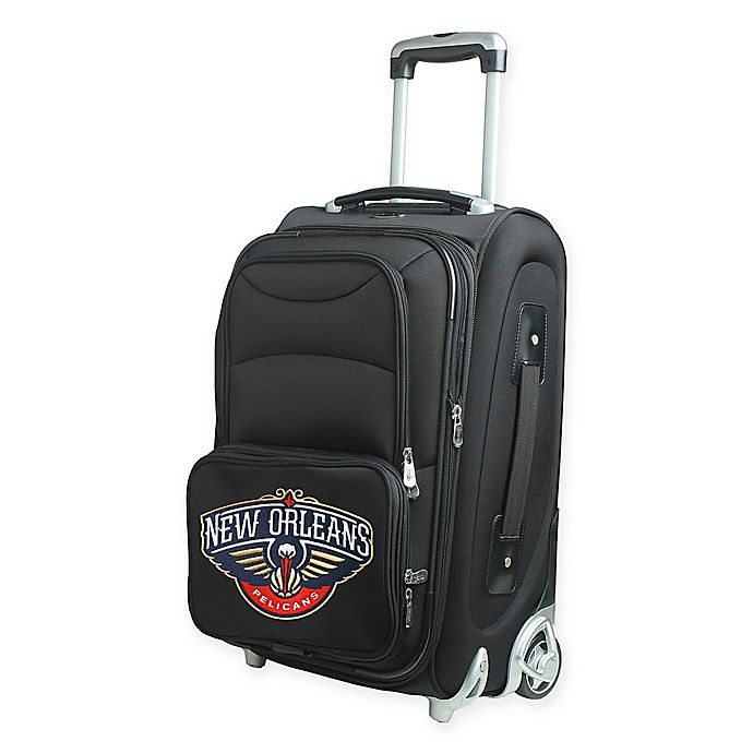 Alternate image 1 for NBA New Orleans Pelicans 21-Inch Carry On Spinner