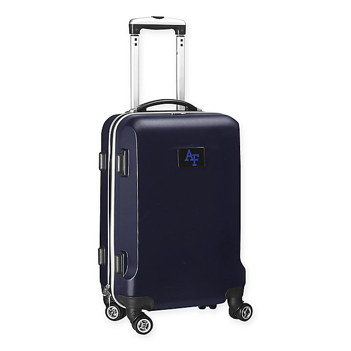 Alternate image 1 for United States Air Force Academy 20-Inch Hardside Spinner Carry On in Navy