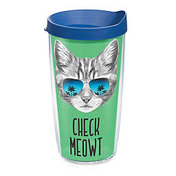 Tervis® Check Meowt Cat 16 oz. Wrap Tumbler with Lid
