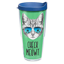 Tervis® Check Meowt Cat 24 oz. Wrap Tumbler with Lid