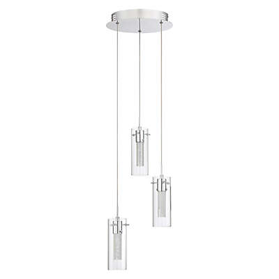 Quoizel Platinum Collection Radiance Pendant in Chrome