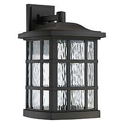 Quoizel® Stonington LED Wall-Mount Outdoor Lantern