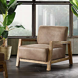INK+IVY® Easton Lounge Chair in Brown