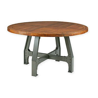 INK+IVY® Lancaster Round Dining Table in Amber