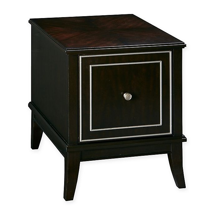 Madison Park Signature Everleigh End Table In Ebony Bed Bath Beyond