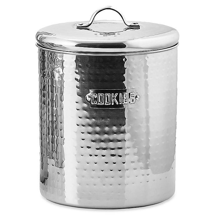 Alternate image 1 for Old Dutch International Hammered Cookie Jar