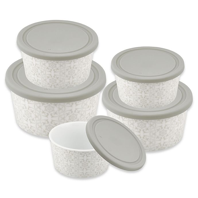 Alternate image 1 for Imperial 5-Piece Round Food Storage Container Set