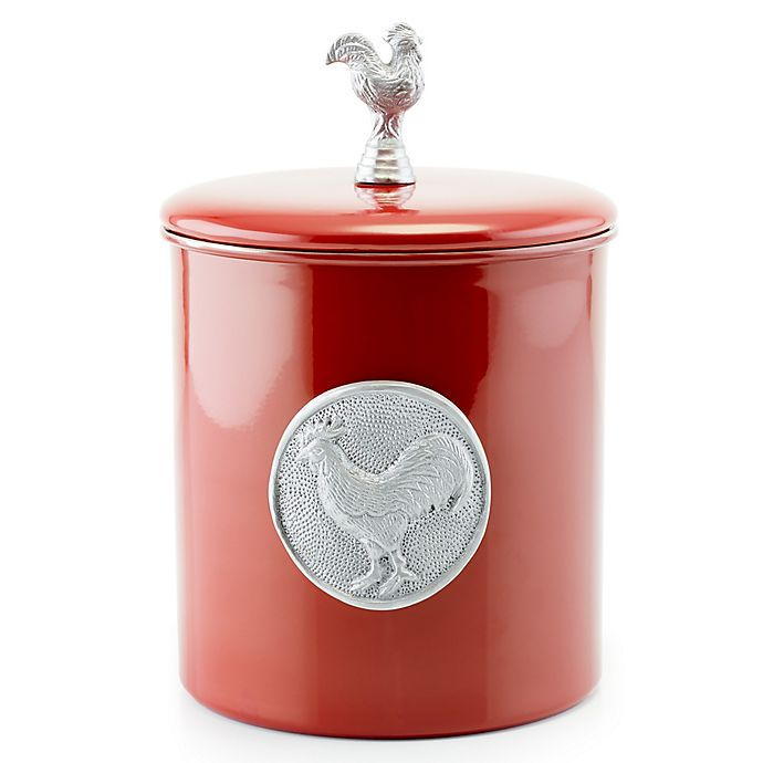 Alternate image 1 for Old Dutch International Rooster Cookie Jar in Red
