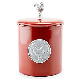 Old Dutch International Rooster Cookie Jar in Red