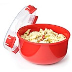 Sistema® 30.9 oz. Microwavable Round Bowl in Red