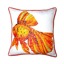 Goldfish Indoor/Outdoor Throw Pillow