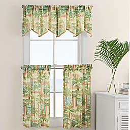 Cayman Window Curtain Tier And Valance