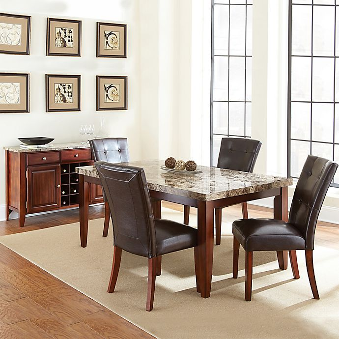 huge selection of cbefa 1a602 Steve Silver Co. Montibello Standard Height Dining Set in ...