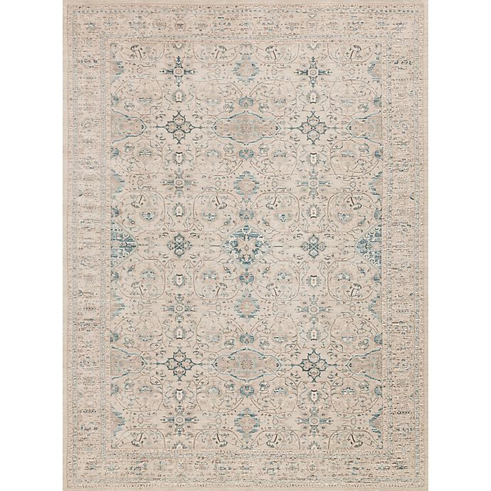 Alternate image 1 for Magnolia Home by Joanna Gaines Ella Rose 13-Foot x 18-Foot Area Rug in Bone