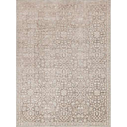 Magnolia Home by Joanna Gaines Ella Rose 3-Foot 7-Inch x 5-Foot 6-Inch Area Rug in Pewter