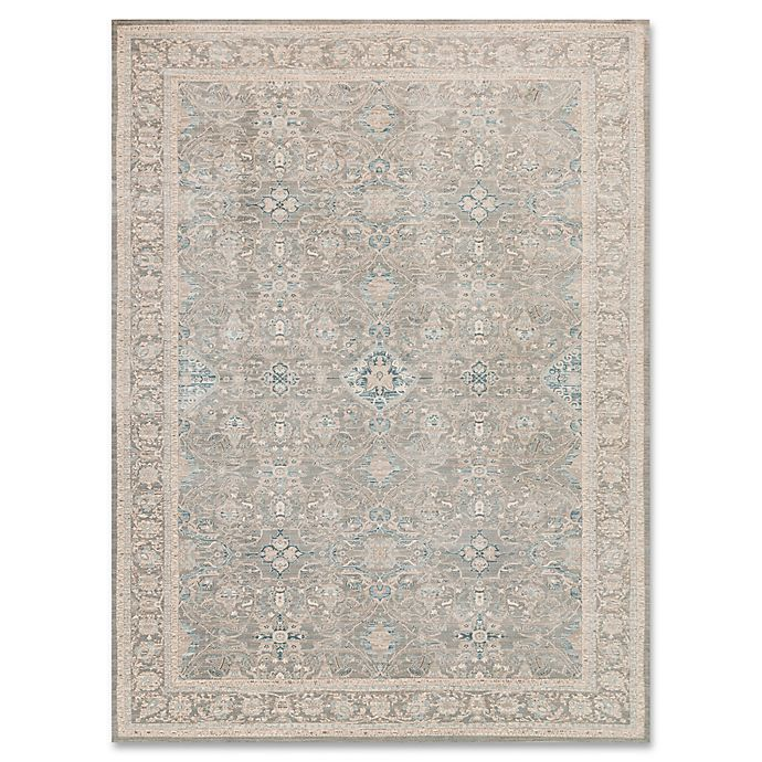 Magnolia Home By Joanna Gaines Ella Rose Rug In Steel Bed Bath