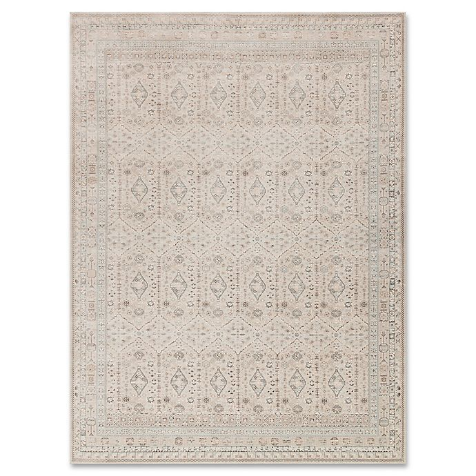 Alternate image 1 for Magnolia Home by Joanna Gaines Ella Rose Rug in Stone