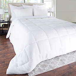 Sherpa Oversized Down Alternative Comforter in White