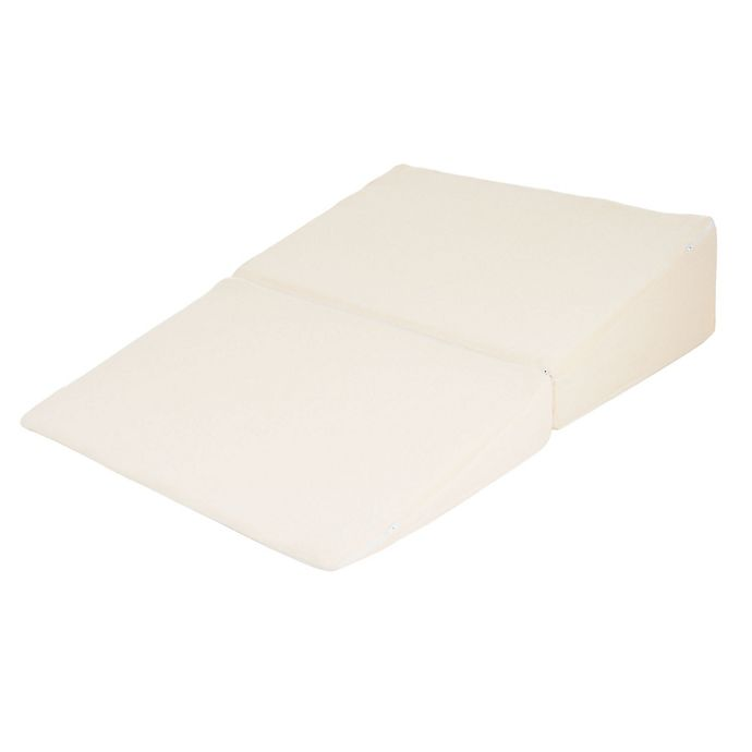 Folding Wedge Memory Foam Pillow With Cover Buybuy Baby