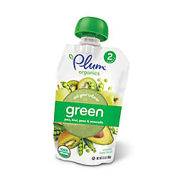 Plum Organics® Eat Your Colors® 3.5 oz. Green: Pea, Kiwi, Pear, and Avocado Squeezable Puree