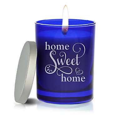 Carved Solutions Gem Collection Unscented Home Sweet Home Soy Wax Candle