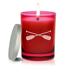 Carved Solutions Gem Collection Unscented Oars Soy Wax Candle