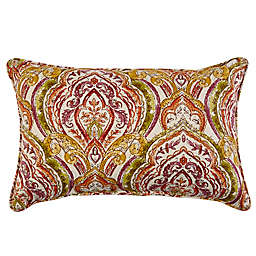 Print Indoor/Outdoor 13-Inch x 20-Inch Throw Pillow in Avaco Sunset