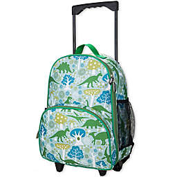 Olive Kids Dinomite Dinosaurs Rolling Luggage in Green