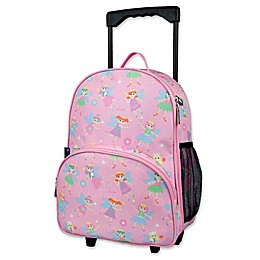 Olive Kids Fairy Princess Rolling Luggage in Pink