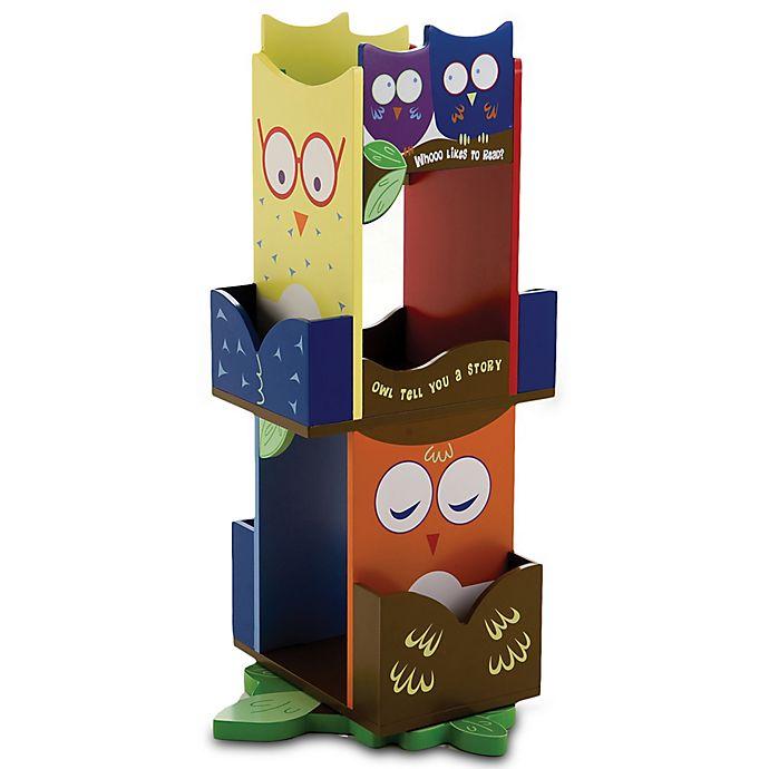 Alternate image 1 for Wildkin Kid's Owls Revolving Bookcase