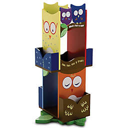 Wildkin Kid's Owls Revolving Bookcase