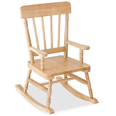 Wildkin Kid's Emerson Rocking Chair in Oak