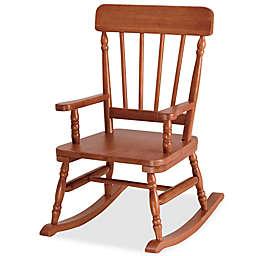 Wildkin Kid's Emerson Rocking Chair in Maple
