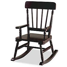 Wildkin Kid's Emerson Rocking Chair in Espresso
