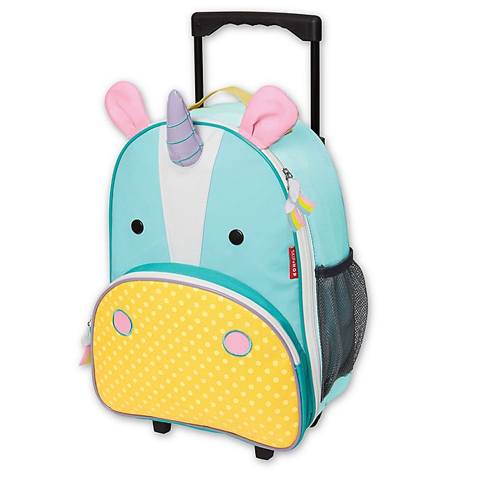 Alternate image 1 for SKIP*HOP® Zoo Little Kid Rolling Luggage in Unicorn