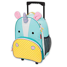 904a1a41e800 SKIP HOP® Zoo Little Kid Rolling Luggage in Unicorn