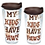 """Part of the Tervis® """"My Kids Have Paws"""" Wrap Tumbler with Lid"""