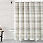 ED Ellen DeGeneres™ Azur Stripe 72-Inch x 72-Inch Shower Curtain