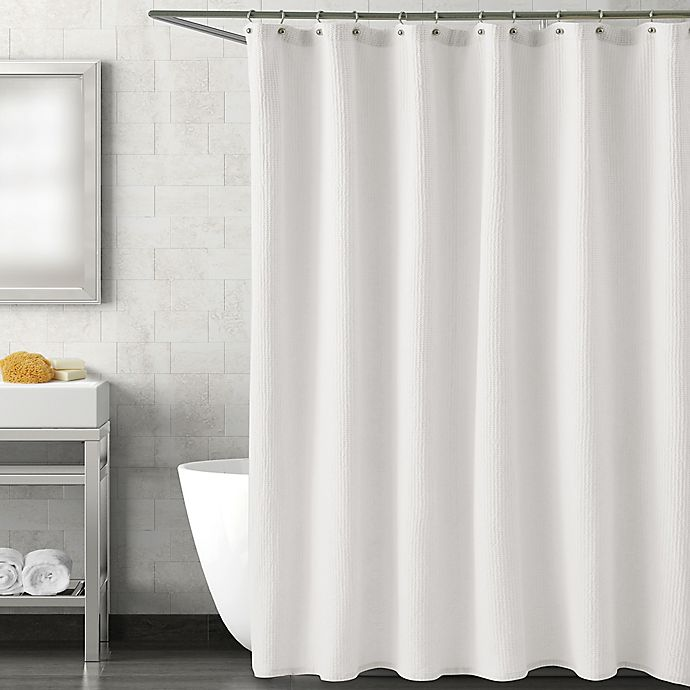 Alternate image 1 for Haven Harmony 72-Inch x 84-Inch Shower Curtain in White