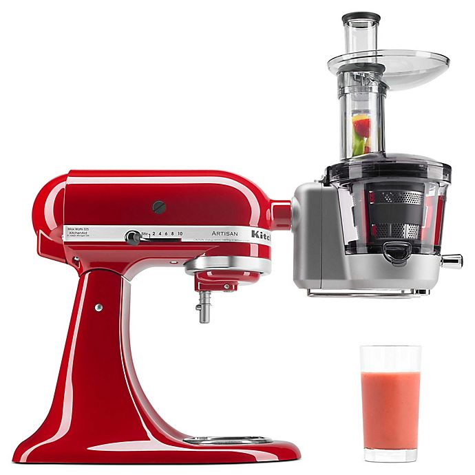 Alternate image 1 for KitchenAid® Juicer and Sauce Attachment
